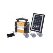 Portable Small Solar Power System For Mobile Lighting